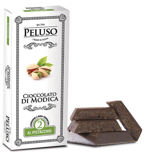 Image sur Chocolat de Modica IGP au Pistache 75g