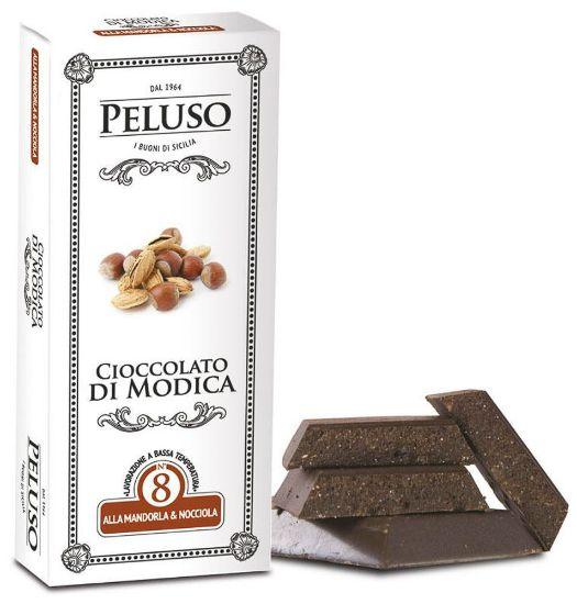Image sur Chocolat de Modica IGP aux Amandes et Noisettes 75g