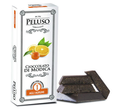 Image de Chocolat de Modica IGP aux Agrumes 75g